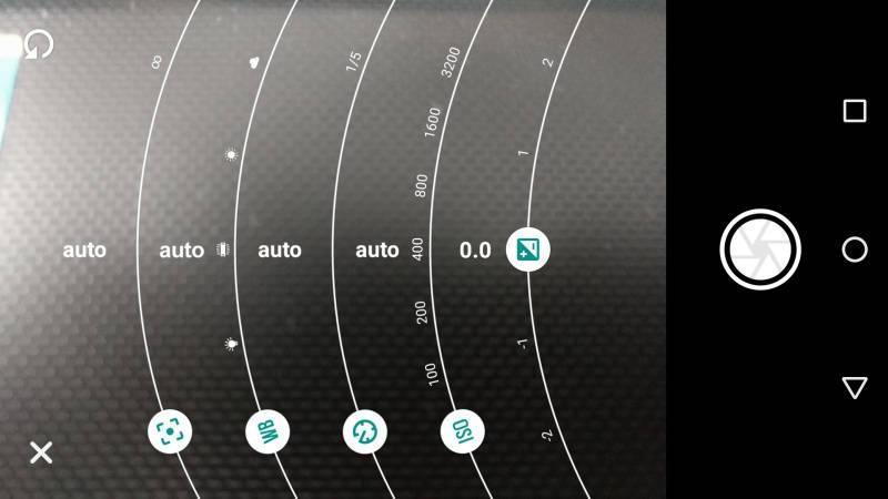 camera settings in moto g4 plus