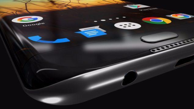 Samsung Galaxy S8 Side View
