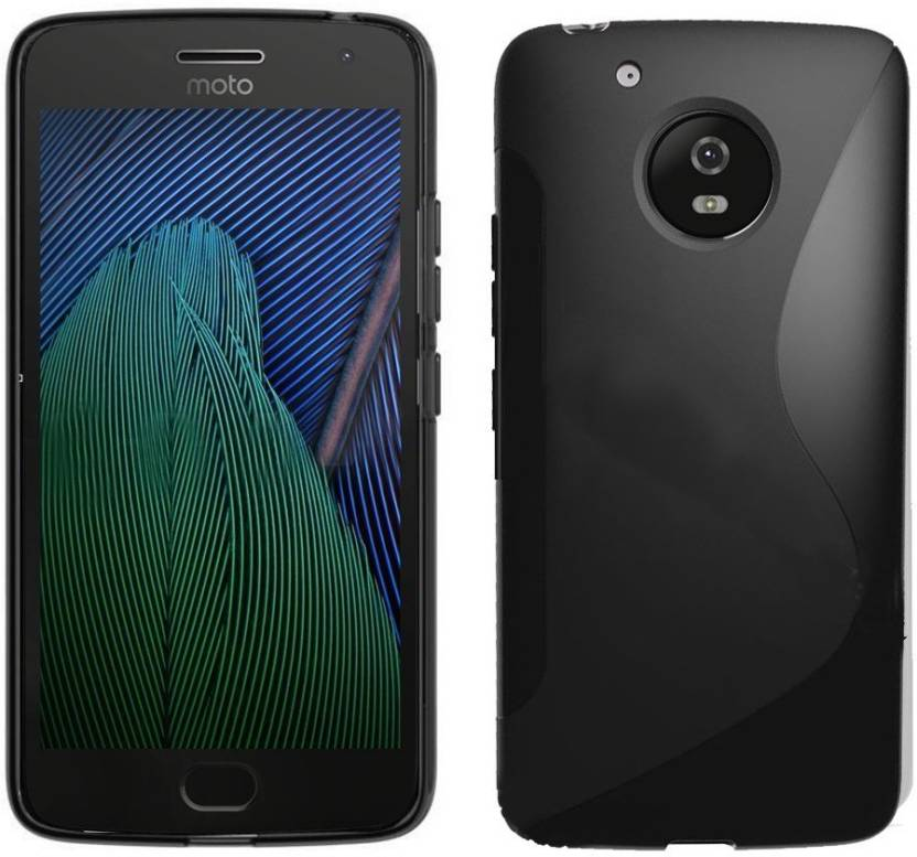 Moto g5 Plus black back cover