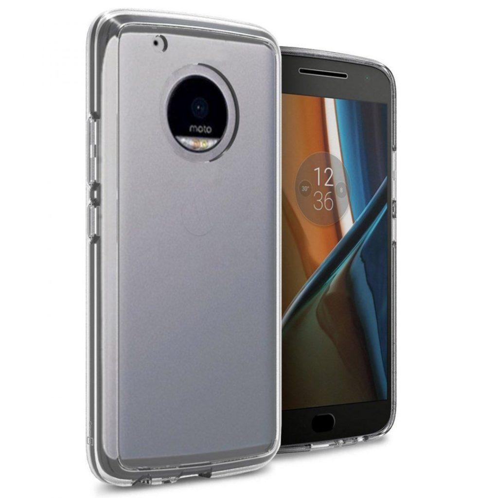 Moto G5 transparent case