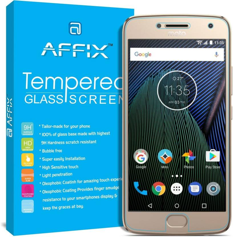 Best tempered glass for Moto G5 Plus