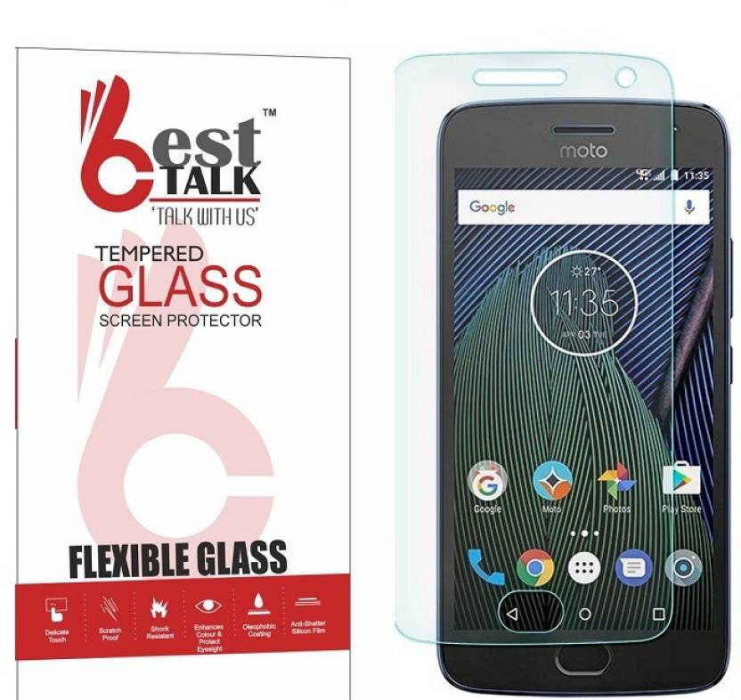 Moto G5 Plus best tempered glass