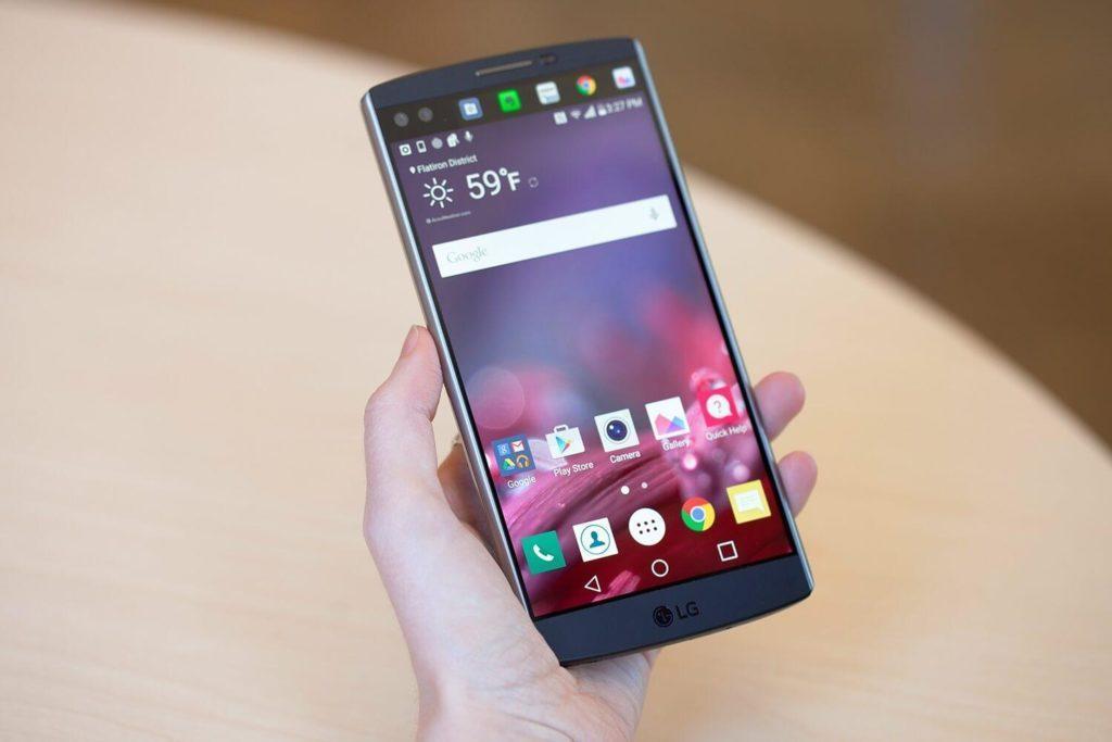 LG V10 Android Oreo update