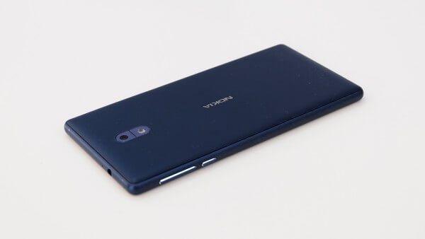 backview of Nokia 3