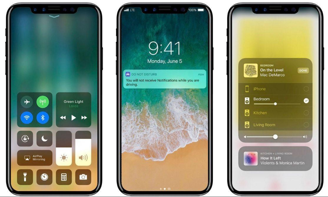 Apple iPhone X images