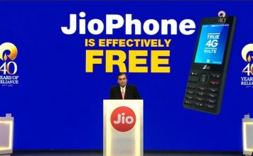 Mukesh Ambani Shows Jio Phone at Just Rs. 1499