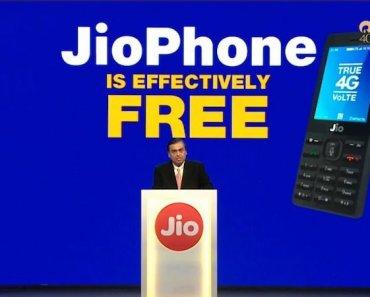 Mukesh Ambani Shows Jio Phone at Just Rs. 1499