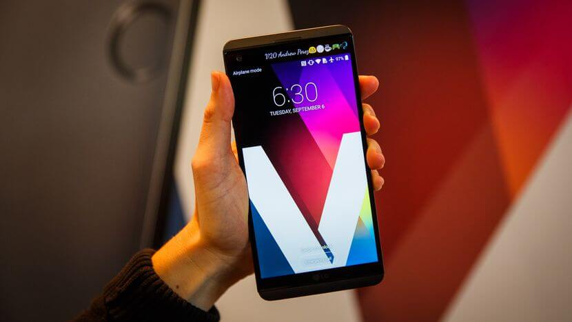 lg V20 android o 8.0 update