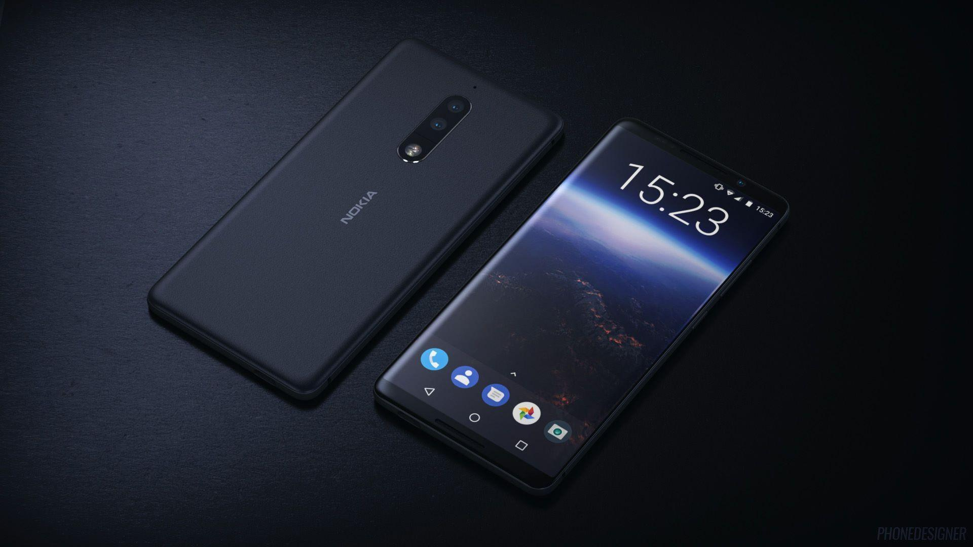 Nokia 8 offers 'bothie' to replace the selfie