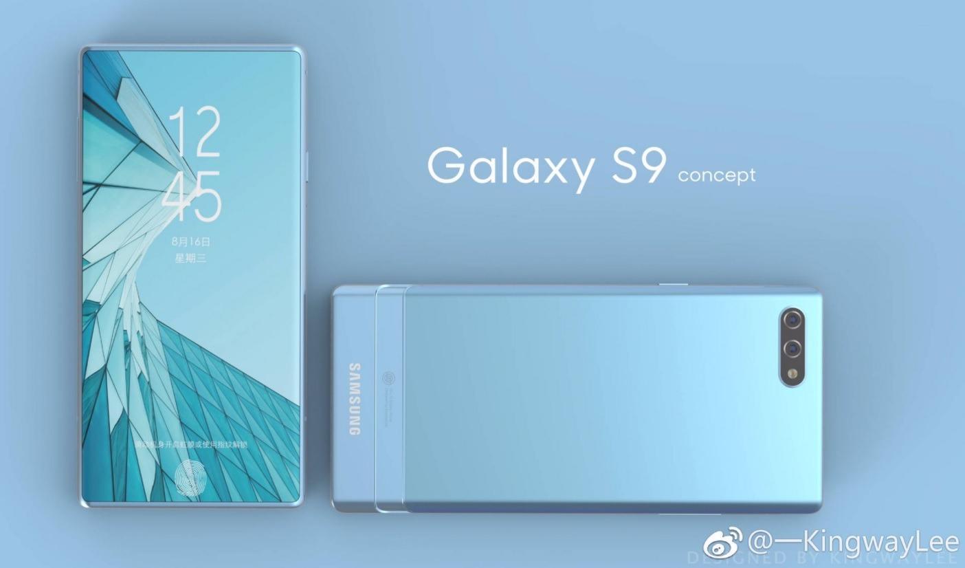 Samsung Galaxy S9 Concepts