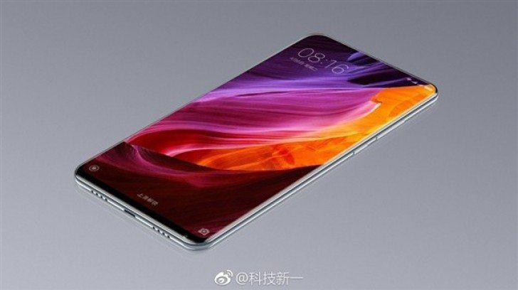 Xiaomi Mi Mix 2 leaked render shows full-screen design