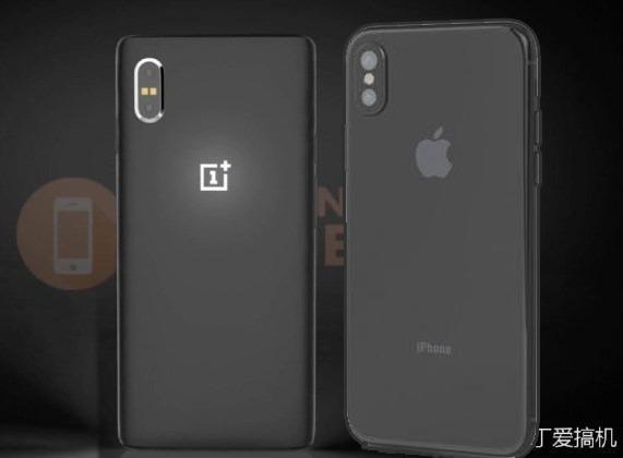 OnePlus 6 iPhone 8 side by side comparision
