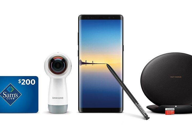 Galaxy Note 8 Pre Orders Sam's Club Gifts and Deals