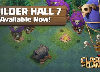 Clash of Clans Builder Hall 7 update