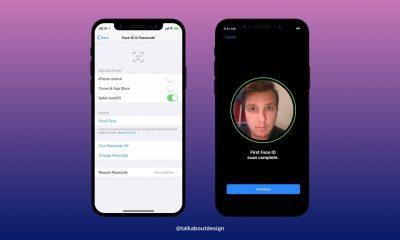 Apple iPhone 8 face id