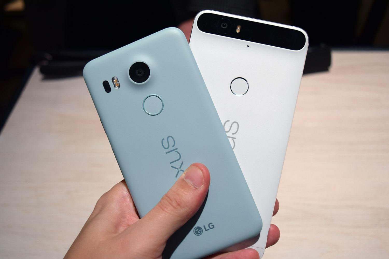 Google Nexus 6P and 5x