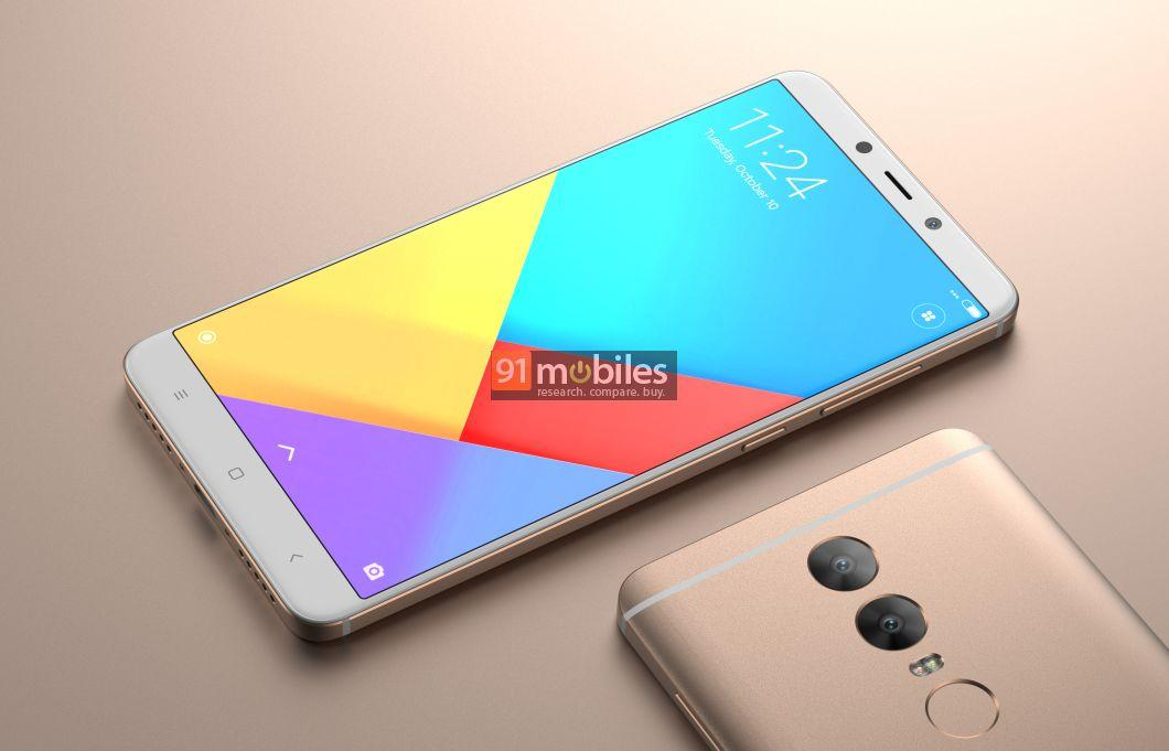 Redmi note 5 render