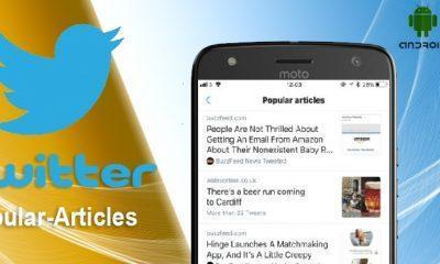 Twitter popular article update