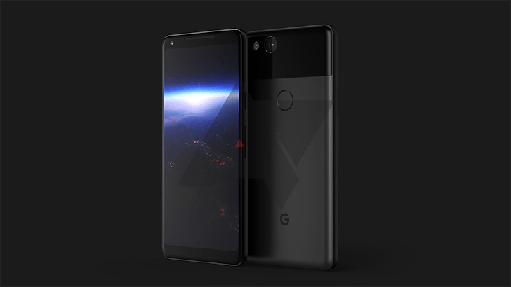 Google Pixel 2 Xl concept render