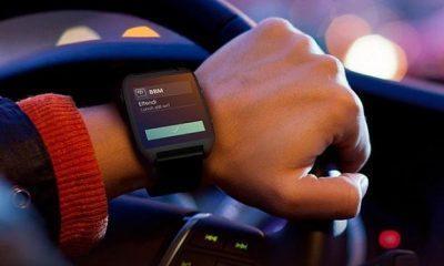 BBM on a smartwatch