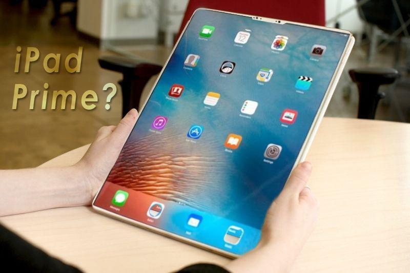 iPad Prime concept render also known as iPad Pro 2018