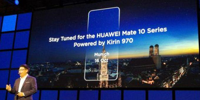 Huawei Mate 10 event announcement
