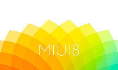 MIUI 8 update