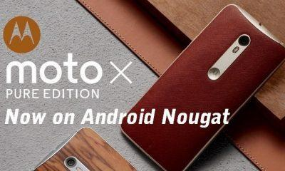 Moto X4 Pure edition Android Nougat