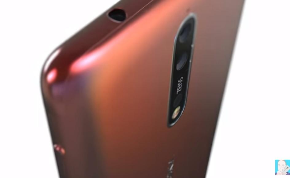 Nokia 8 rear side concept render