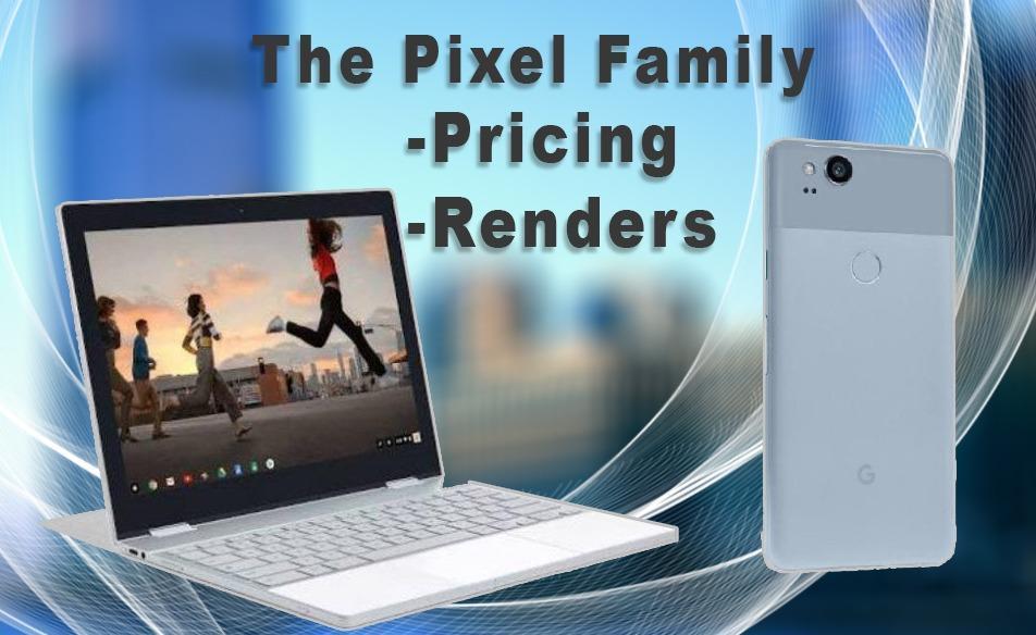 Google Pixelbook and Pixel 2 XL