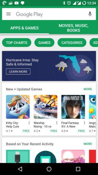 Play Store OLD UI