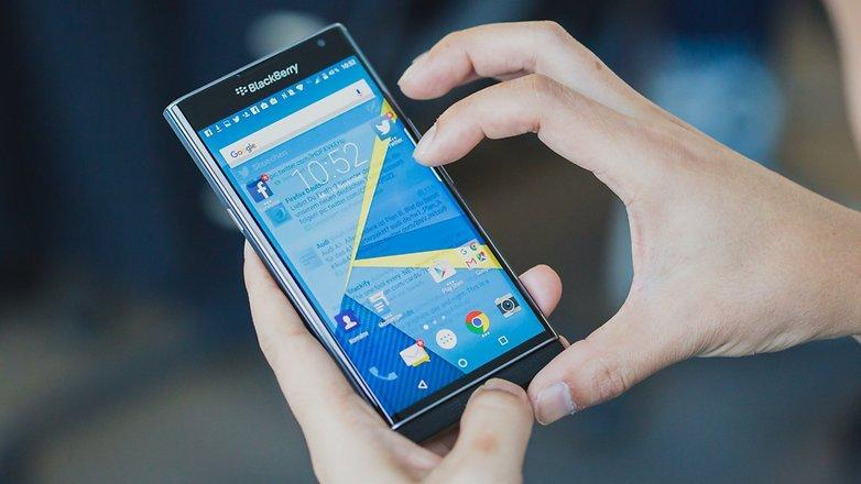 BlackBerry says Priv will not get Android Nougat