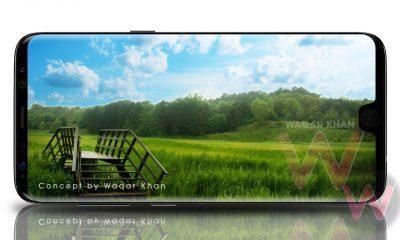 Galaxy S9 Display render