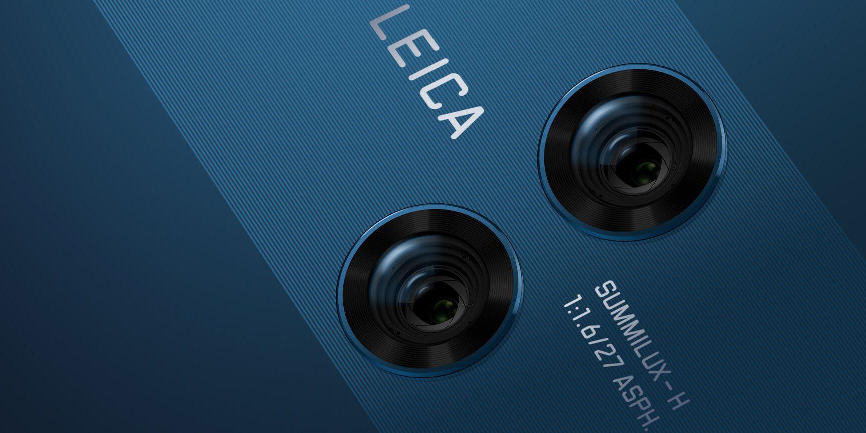 Mate 10 lecia cameras