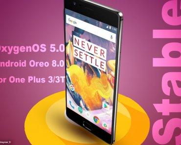 OnePlus 3T oreo update