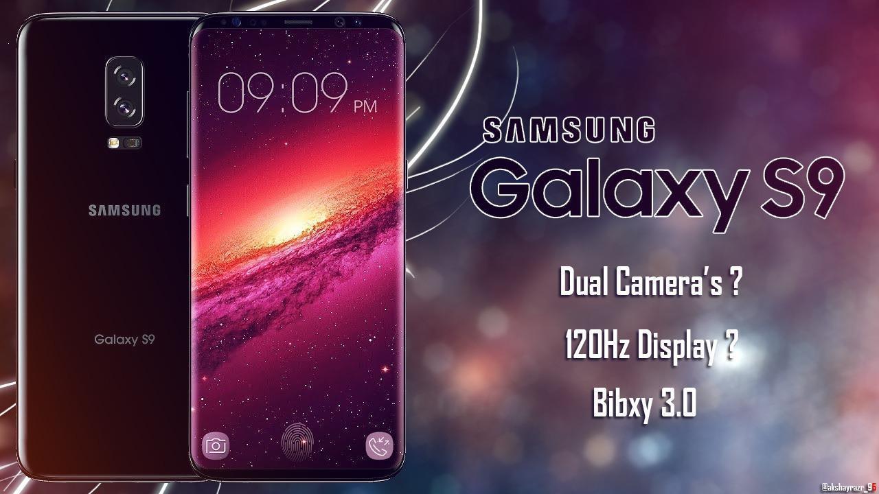 Galaxy S9 concept render