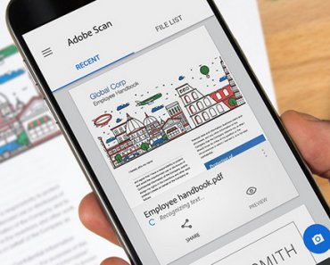 Adobe scan for Android