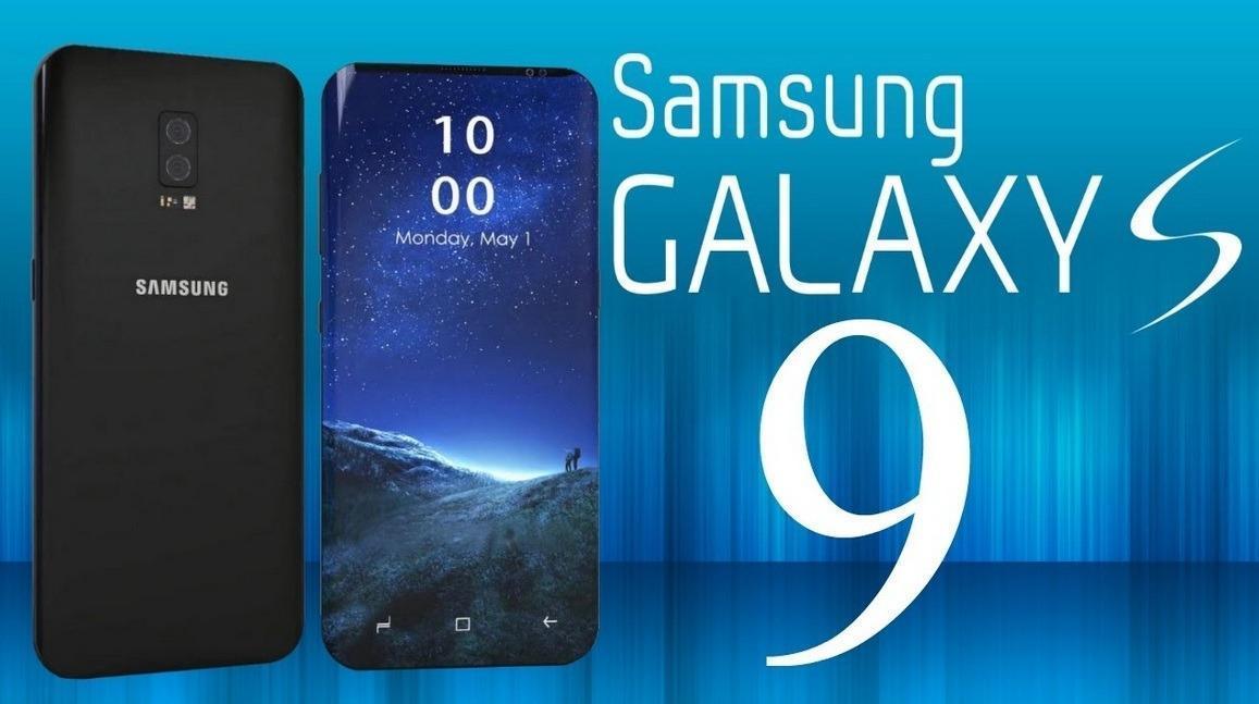 Galaxy S9 concept renders