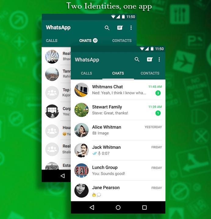 GB WhatsApp Multiple whatsapp account feature