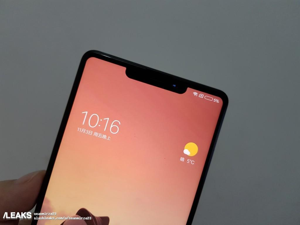 Mi Mix 2S top notch