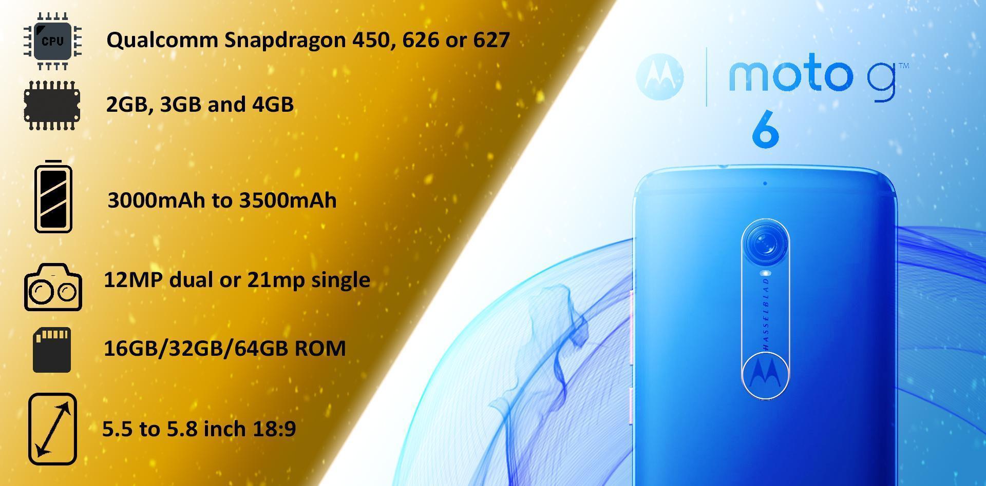 Moto G6 price