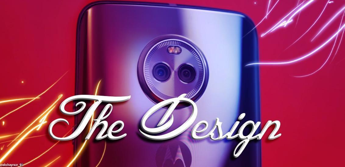 Moto X4 design