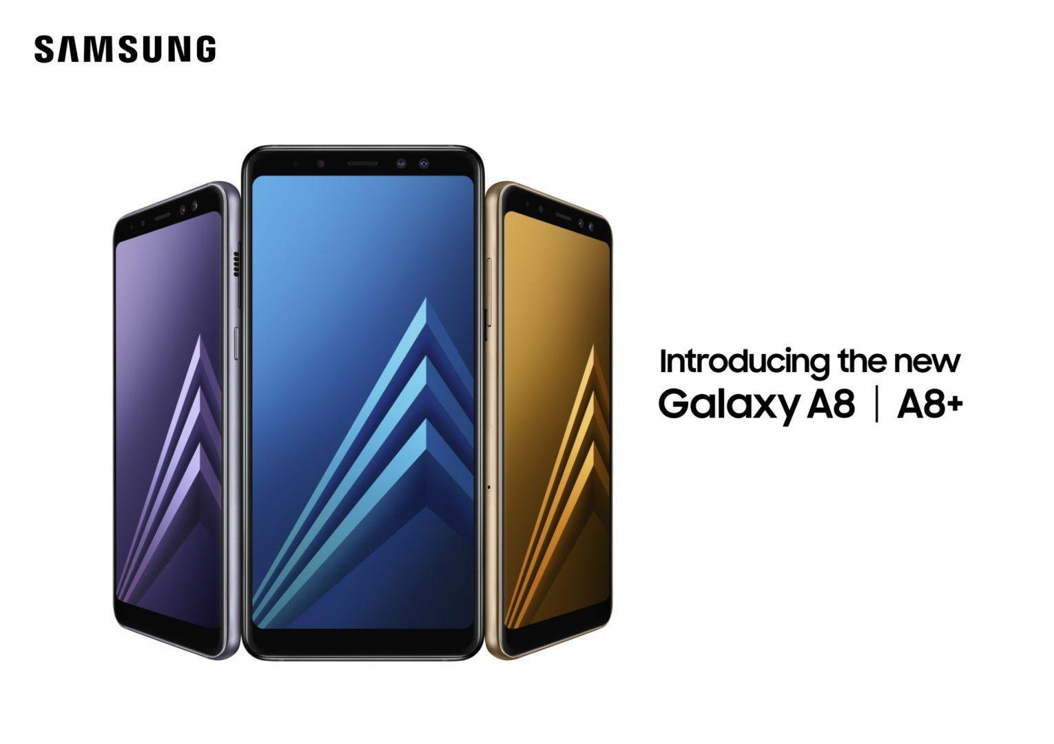 Galaxy A8(2018) and Galaxy A8 Plus(2018)