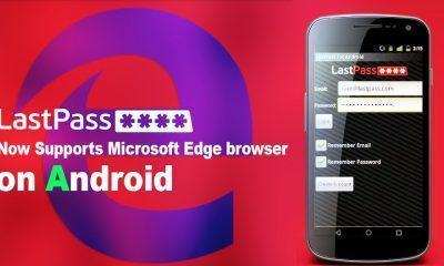 LastPass Microsoft Edge