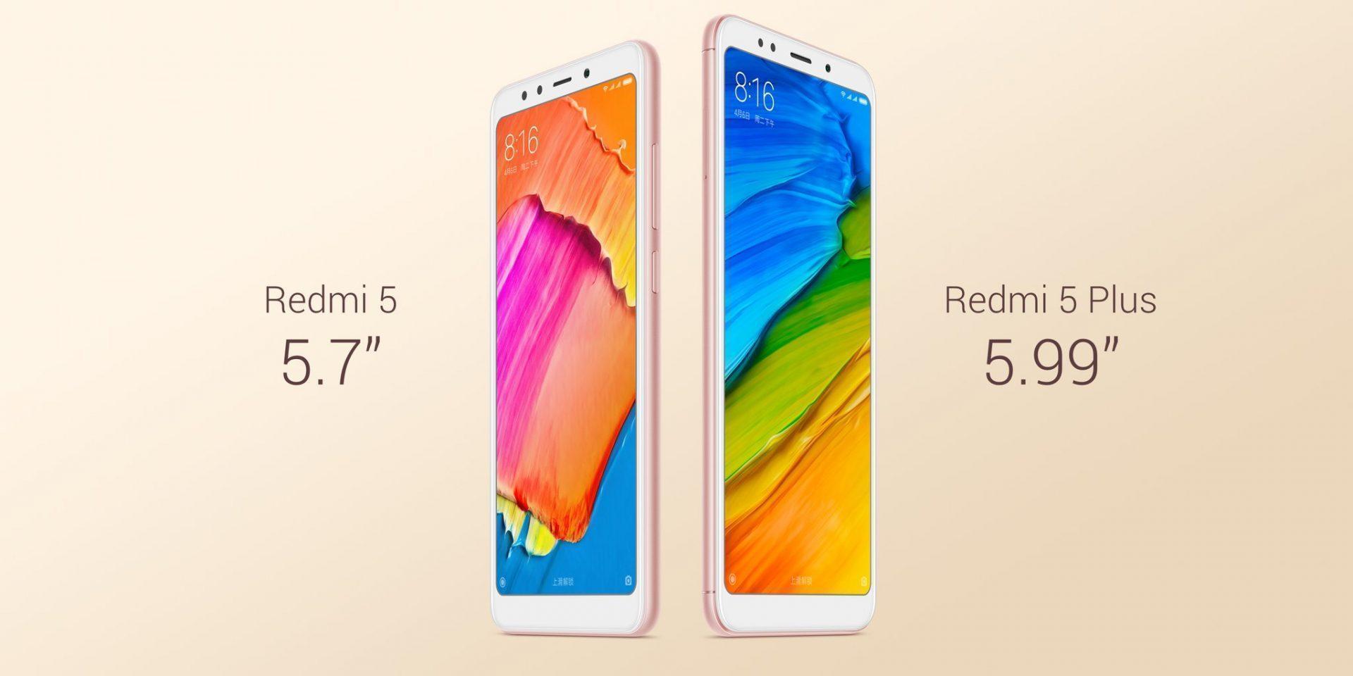 Xiaomi Redmi 5/5 Plus