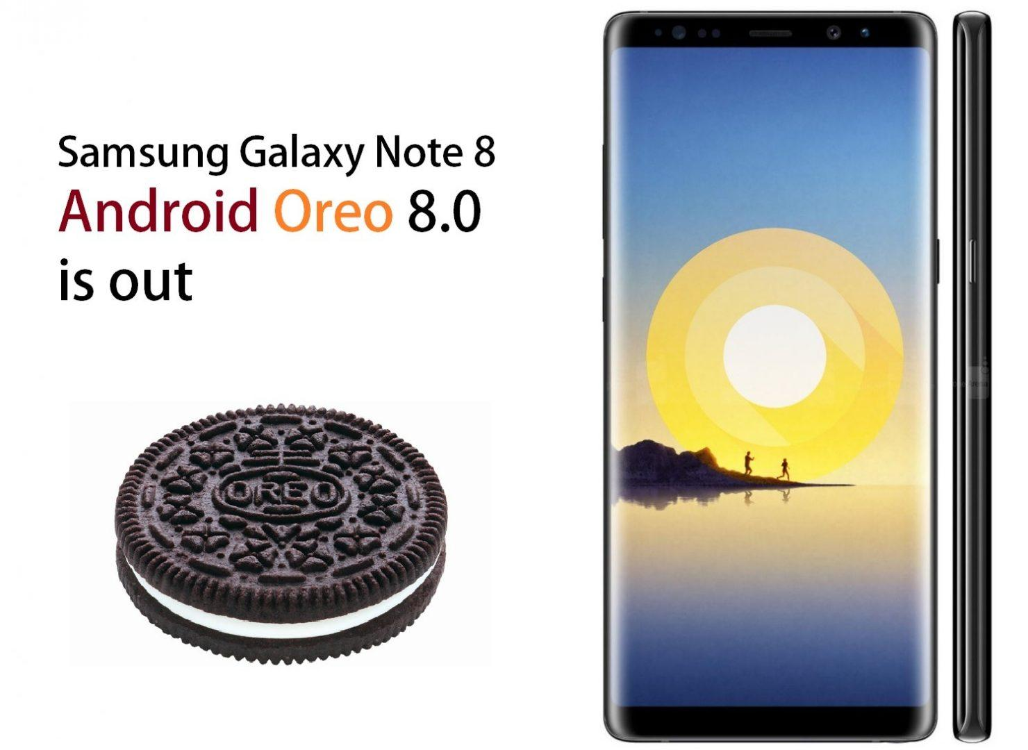 Galaxy Note 8 Android Oreo