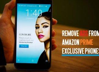 Remove ads from Amazon prime smartphones