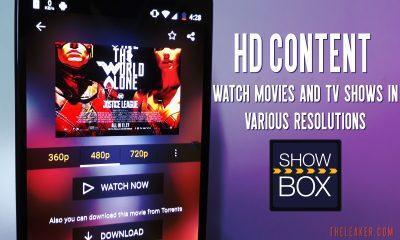 showbox homepage