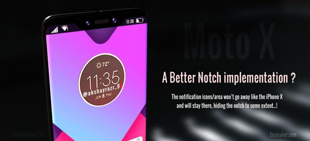 Motorola Notch Device