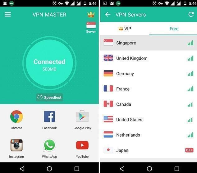 VPN Master Android